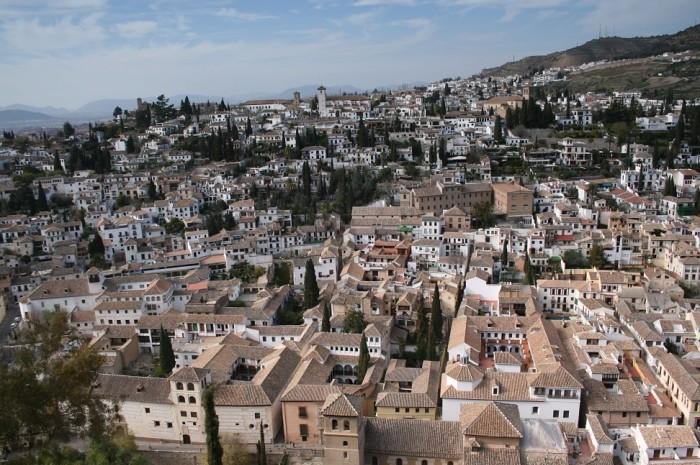 Granada - Panorama miasta