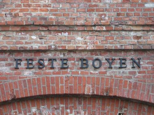Twierdza Boyen - wejście