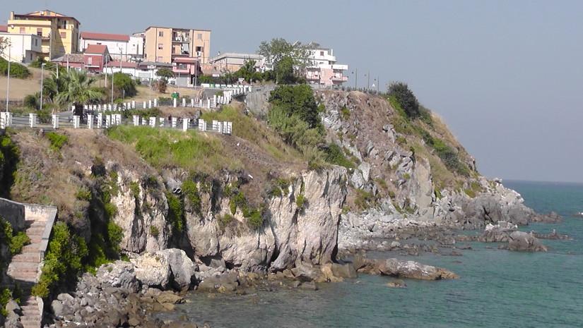 Widok na miejscowość Briatico