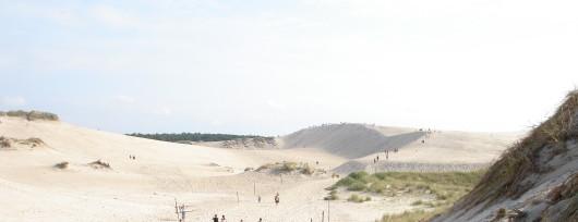 Łeba - ruchome piaski