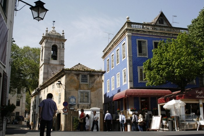 Sintra - centrum miasta