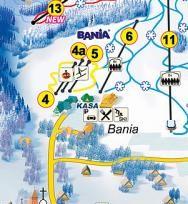 Trasy - Bania