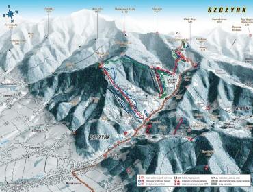 Szczyrk - trasy - wyciągi
