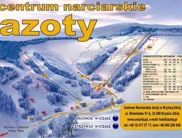 Centrum Narciarskie Azoty - wyciągi
