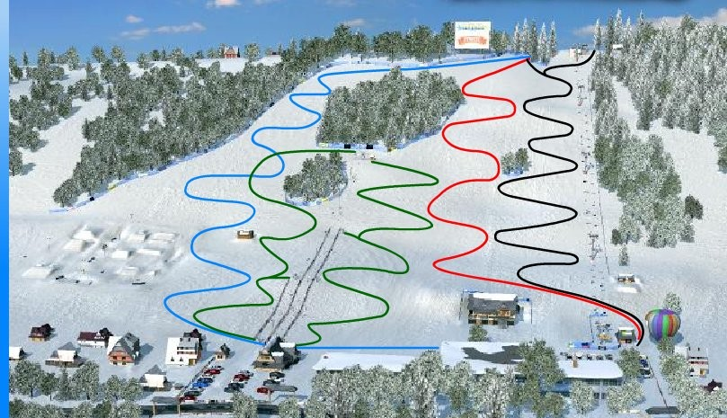 Zakopane - Harenda - Trasy narciarskie
