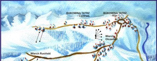 Gliczarów - U Steni - trasy