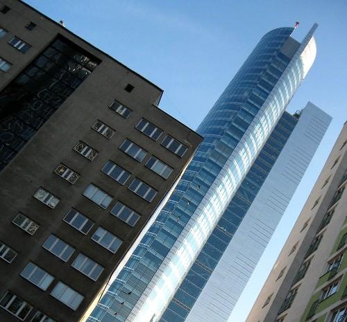 Warszawa - okolice ronda ONZ