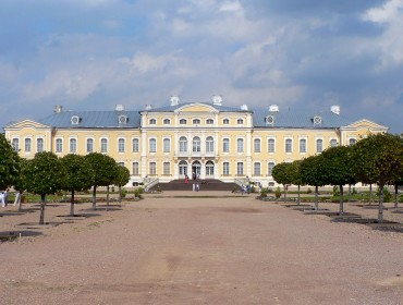 Łotwa - Pałac Rundāle