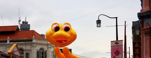 Przygotowania do Chińskiego Nowego Roku Węża