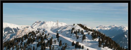 Ośrodek narciarski Alpe Cermìs w Val di Fiemme