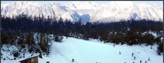 Jazda na nartach przy lodowcu Perito Moreno