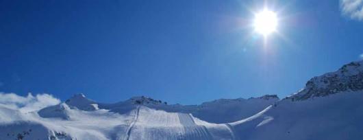 Lodowiec Presena w Val di Sole