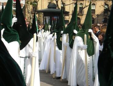 Procesja na Semana Santa w Sewilli