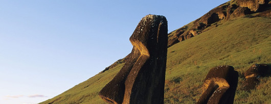 Olbrzymy moai miały strzec wybrzeża Wyspy Wielkanocnej przed nieproszonymi najeźdźcami