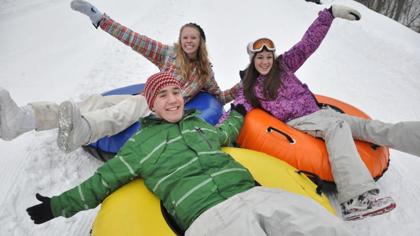 Snowtubing to kupa śmiechu i dobrej zabawy