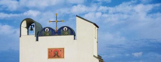 Nowoczesna cerkiew w Białym Borze według projektu Jerzego Nowosielskiego