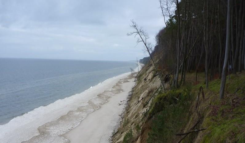 Gosań - najwyższy klif w całej Polsce