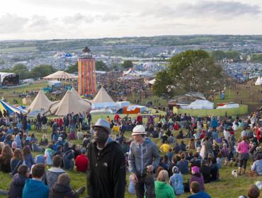 Festiwal Glastonbury w angielskim hrabstwie Somerset