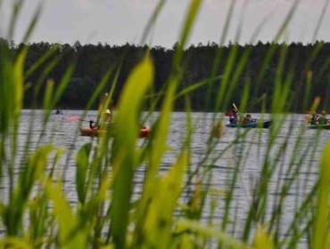 Jedno z fantastycznych jezior w gminie Pobiedziska