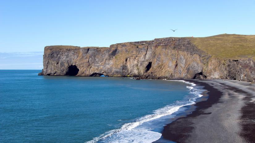 Plaża Vik na Islandii