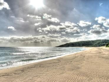 Plaża Chia na Sardynii we Włoszech