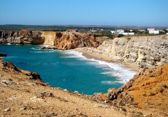 Praia do Beliche w Sagres - Portugalia. Źródło: olhares.sapo.pt