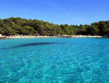 Plaża Cala Turqueta na Menorce - Archipelag Balearów