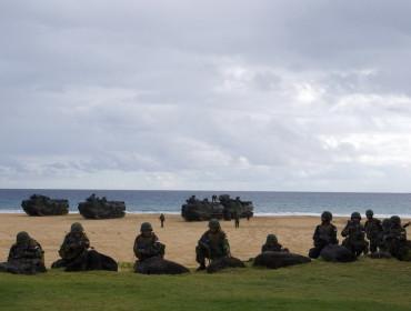 Większa część obszaru Barking Sands Beach należy do Pacific Missile Range