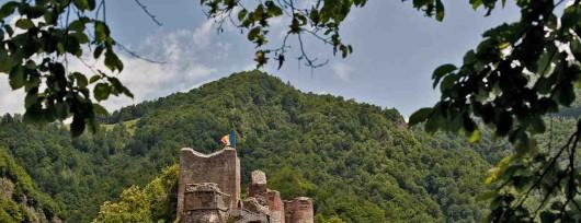 Ruiny zamku Poenari