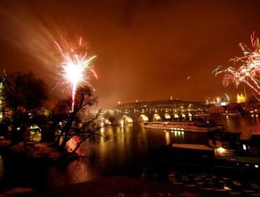 ... i nad Mostem Karola
