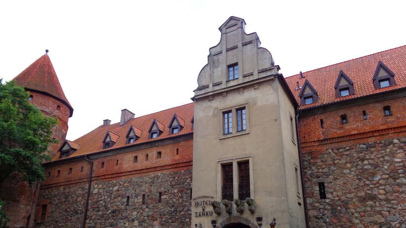 Krzyżacki zamek w Lęborku