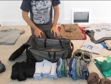 Jak zapakować bagaż podręczny