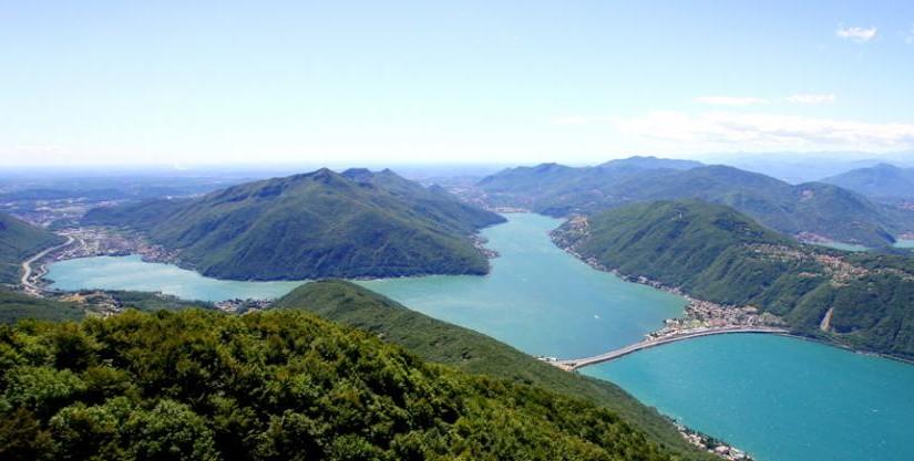 Malownicza panorama Monte San Giorgio. Źródło: www.mendrisiottoturismo.ch