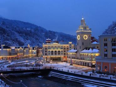 Soczi zimą. Źródło: www.sochiadm.ru