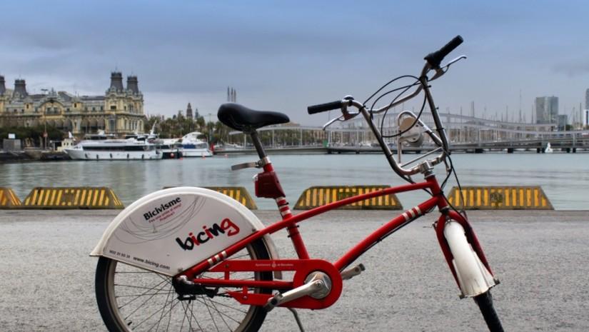 Miejski rower Bicing Barcelona