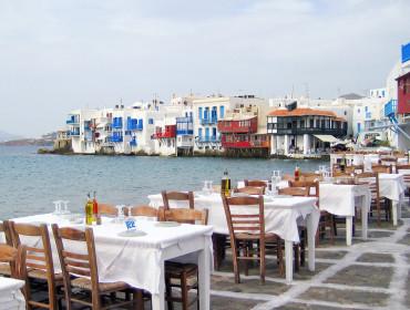 W greckich tawernach