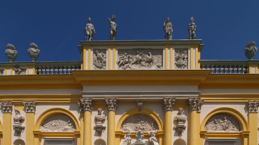 Wilanów pierwotnie nosił nazwę Milanowa - od jego pierwszych właścicieli