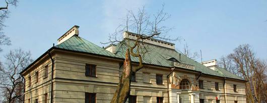 Pałac w Pęcicach składa się nie tylko z pięknych bawialni i sal balowych