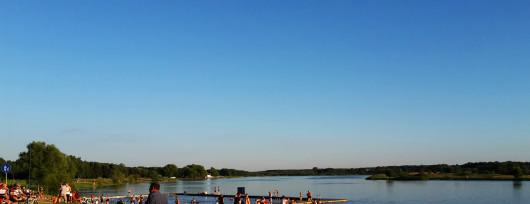 Zalew w Siedlcach nad rzeką Muchawką (zdjęcie nadesłane przez jednego z naszych fanów)