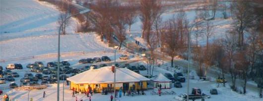 Piękna Góra w Gołdapi - widok z góry (źródło: www.zajazd-rudziewicz.pl)