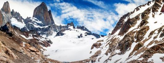 Los Glaciares w Argentynie w okolicy El Chaltén (źródło: Lonely Planet)