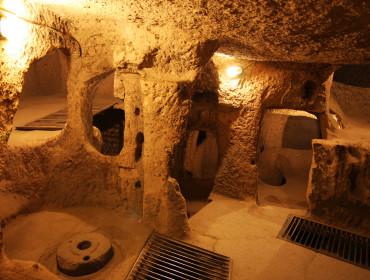 Podziemne miasto Kaymakli w Turcji