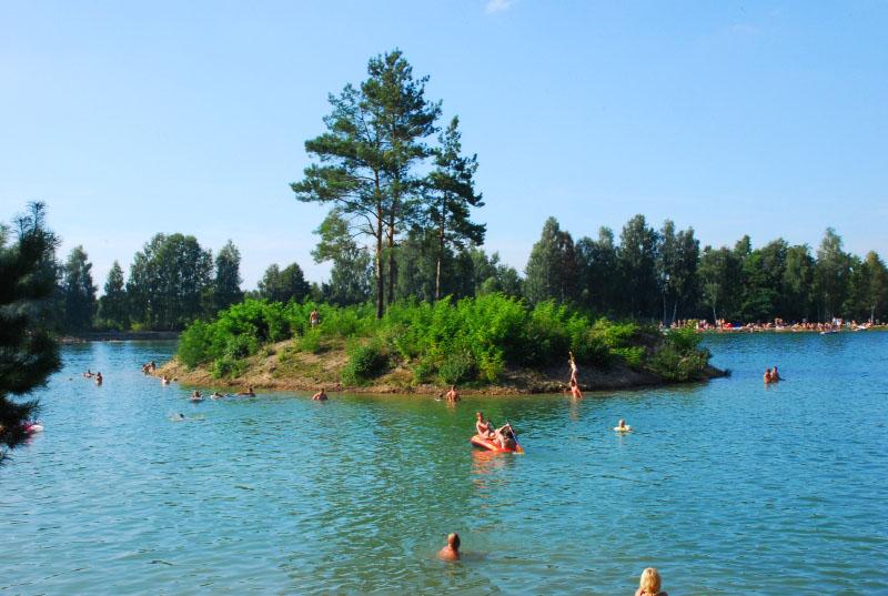 Wysepka na zalewie (źródło: www.mexicanachlewiska.pl)