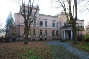 Pałac w Łagiewnikach - obecnie szpital i centrum leczenia chorób płuc (dzienniklodzkipl)