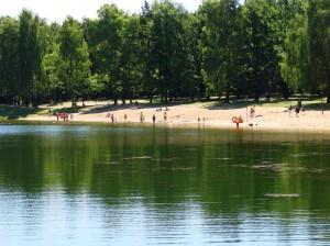 Piękny kompleks wodny w Arturówku obok Łodzi