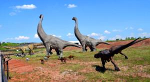 Wędrujące dinozaury w JuraParku w Krasiejowie