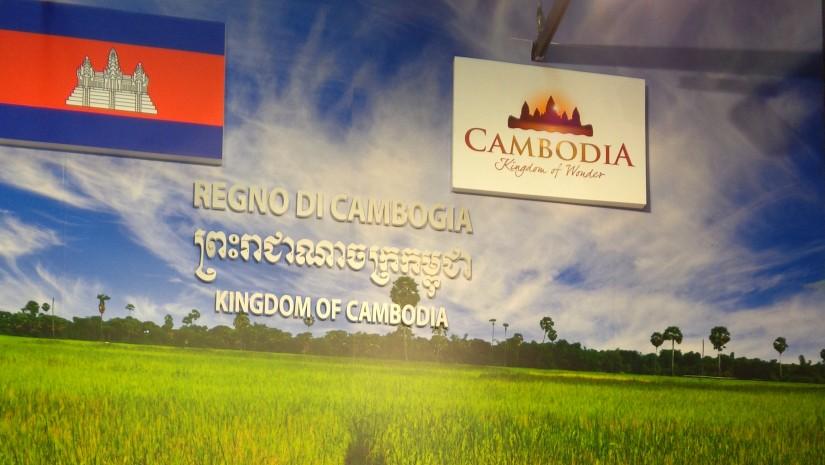 Królestwo Kambodży dumne ze swych zielonych pól ryżowych i ludowych instrumentów.