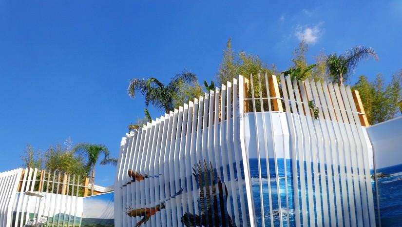 Pawilon Kolumbii prezentuje bogatą florę i awifaunę tego kraju.