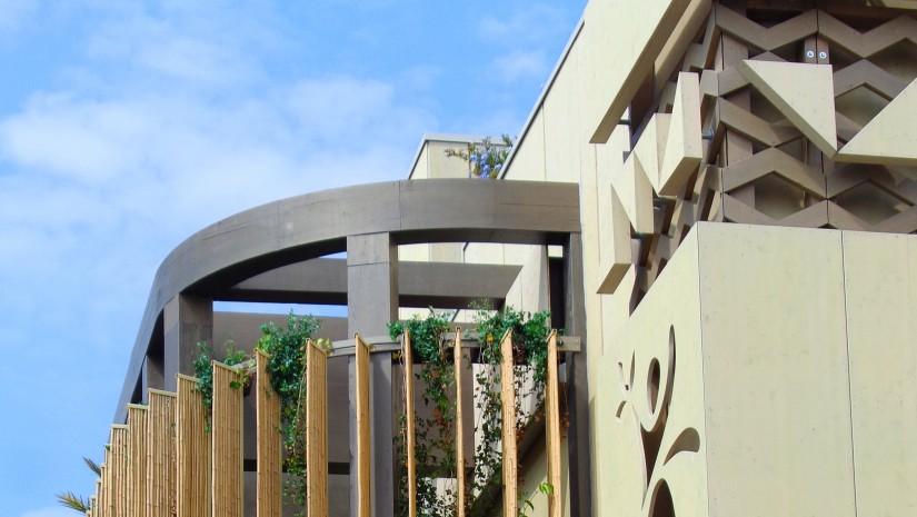 Ciekawy pomysł na ogród w domu według Angoli. Niestety do zrealizowania tylko w kraju o afrykańskim klimacie.