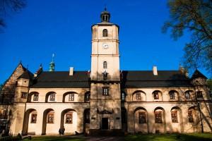 Klasztor Cystersów w Wąchocku od strony frontowej